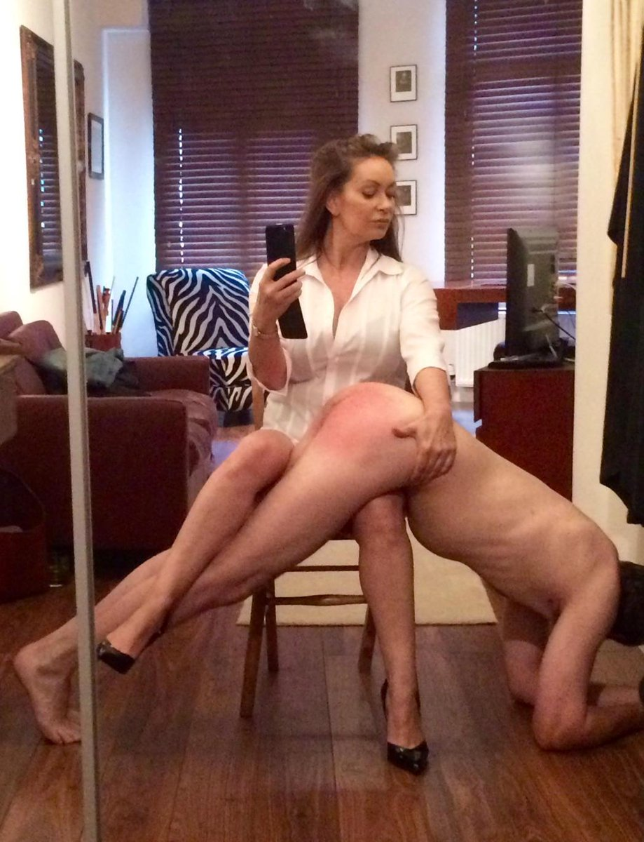 Seems stripped naked andspanked