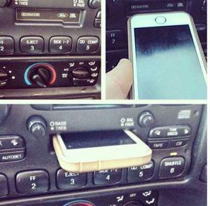 Joven Confundido Intenta Cargar IPhone En Ranura De Pasa Cassette http://t.co/4lzzpu9MX8 http://t.co/gXJ97hLXUM