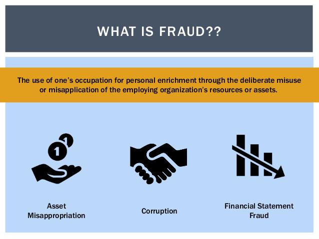 Saadia Santi On Twitter  Types Of Fraud Asset Misappropriation