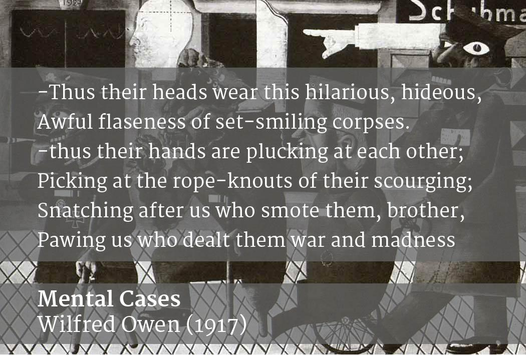 mental cases wilfred owen
