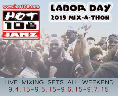 It's the 2015 Labor Day Mix-A-Thon. Listen Live at http://t.co/HMe11qoNQg or at http://t.co/Iu1rKafHYy http://t.co/MkGbZeVXpo
