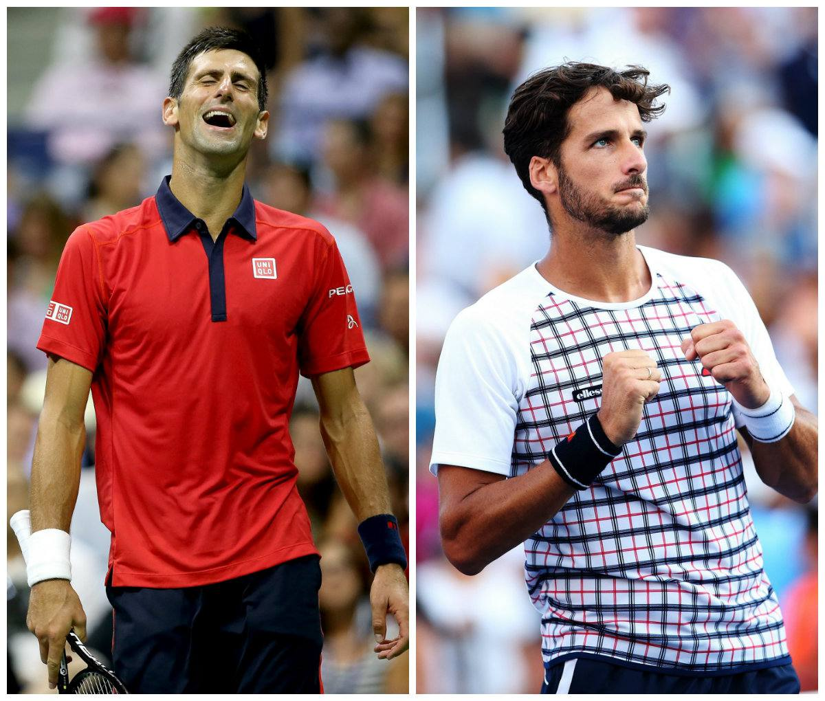 Novak Djokovic vs Feliciano Lopez in diretta tv streaming gratis tennis rojadirecta.