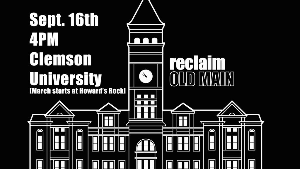 A march & demonstration to #ReclaimOldMain | Sept. 16 | 4 p.m. | Howard's Rock at Death Valley http://t.co/JYo8k8HhJB