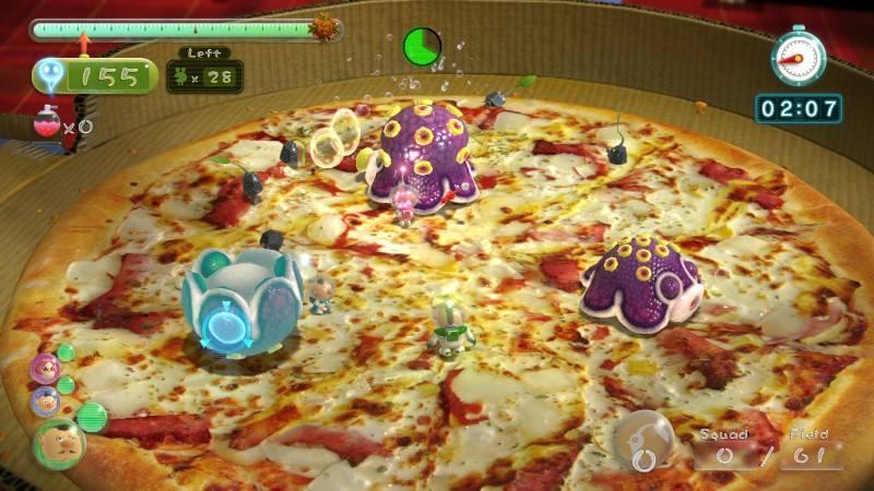 pikmin 3 dlc pizza