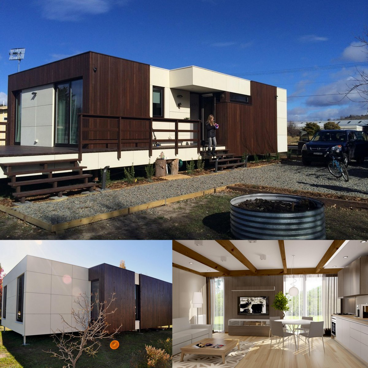 Houzz Australia On Twitter Prefab Compact Sustainable Houses