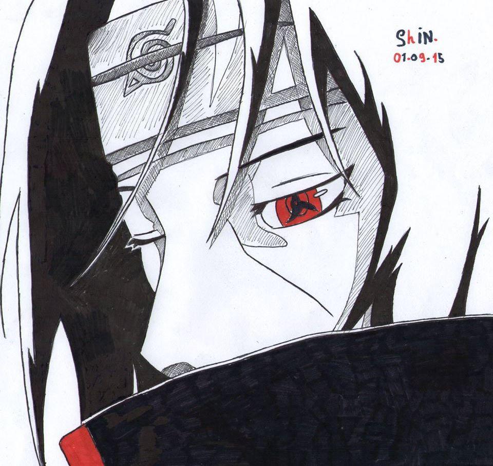 Jah City On Twitter Last Draw Itachi Naruto Shin Manga