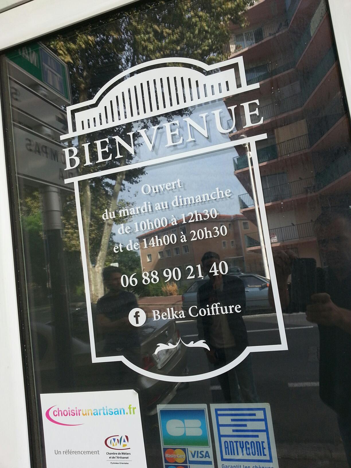 """La fabrique d images on Twitter """"Belka Coiffure 204 avenue Joffre"""