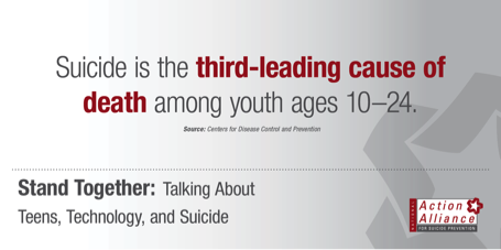 """@Action_Alliance: 9.9 #SuicideReporting Panel - ""Teens, Technology, & Suicide"" http://t.co/P6TbosYG8v http://t.co/0rhItFabqq"" #NSPW #wspd15"