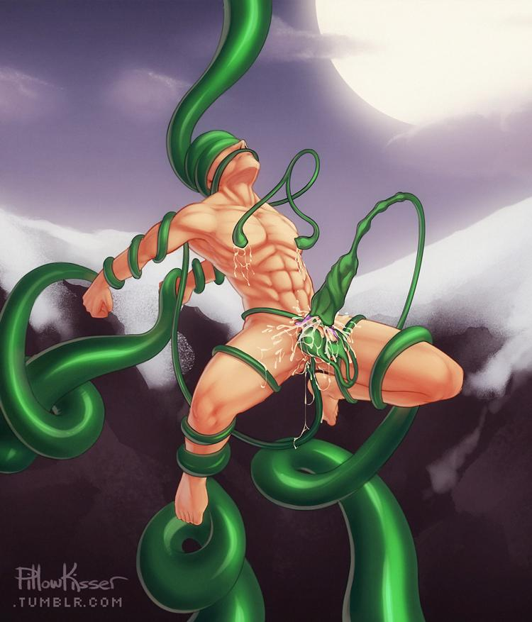Woman tentacles nude men fucking