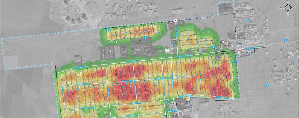 UNOSAT On Twitter RT REACHinfo Iraq Mapping Population - Population density in switzerland 2015