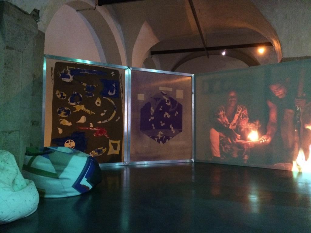 Création artistique Sister Ship de Maxime Rossi  avec la  participation vocale d'Emma   COZ8fHNW8AASZQ8