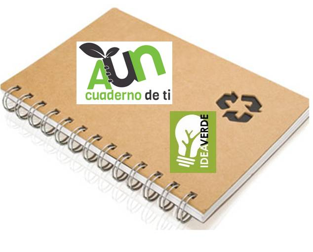 Recycling Circuit of Ecological Notebooks with Idea Verde