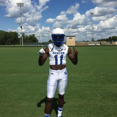 Jeremiah Holloman-2017 WR , Newton HS, Covington, GA (Photo courtesy of Newton HS Recruits - Twitter)