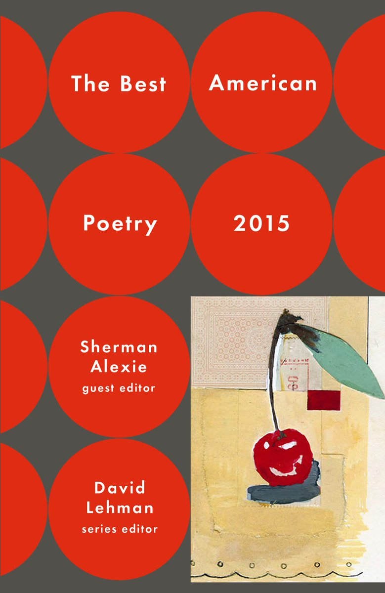 The Best American Poetry 2015 Launch Reading at The New School - 9/24/15, 7:00 pm. http://t.co/icunW0CqYi http://t.co/pg5DaZUHAg
