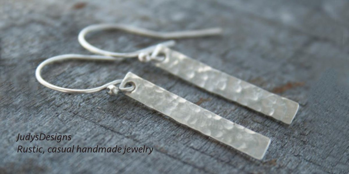 Grab and go everyday sterling silver earrings. http://t.co/Ob518HiS6e #handmade #tenxteam #jewelry #etsy http://t.co/5eVh0b7Jjj