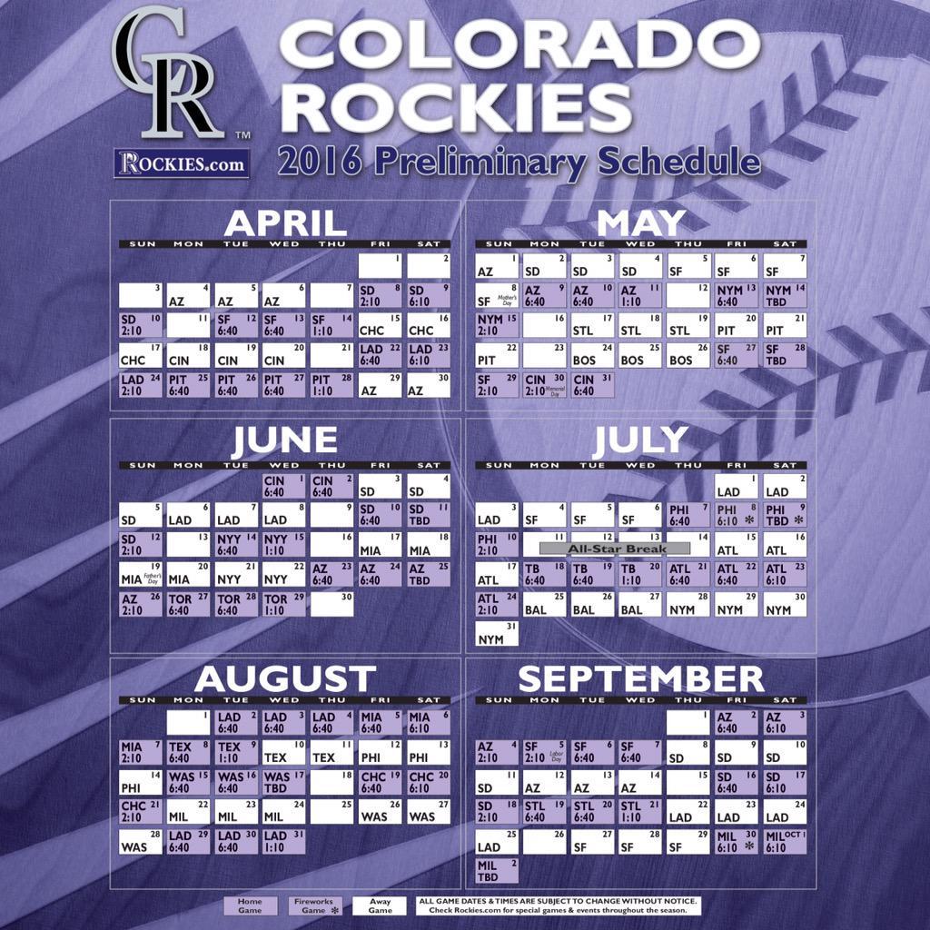 Colorado Rockies on Twitter: