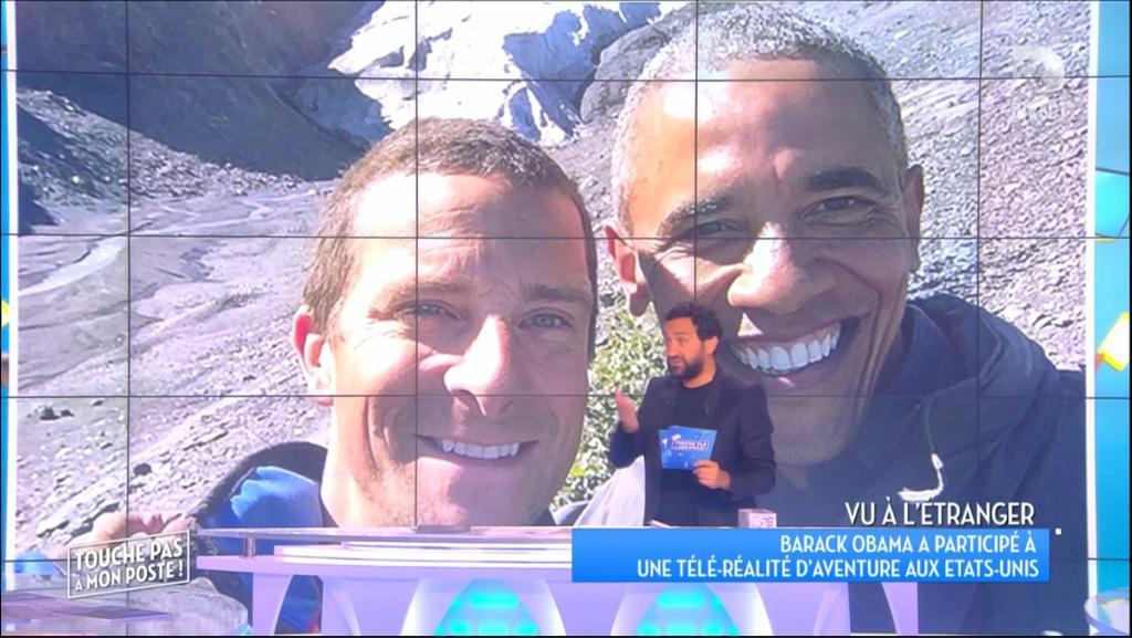 #BarackObama dans une télé-réalité d'aventure, qu'en pensez-vous ? #TPMP