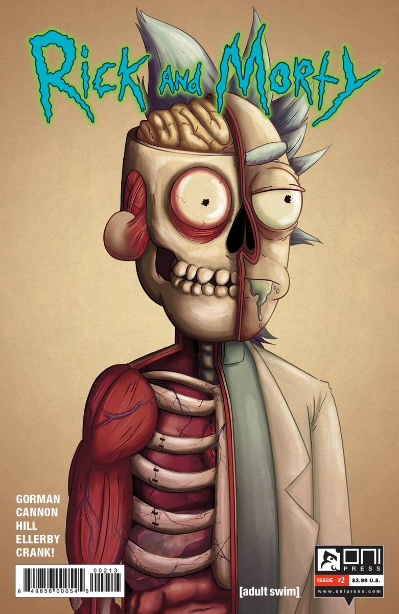 Oni Press On Twitter NCBD Out Today RickandMorty 2 3rd Printing Rick And Morty 3 2nd The Bunker 14 Letter 44 20 Tco W3gUMvBUij