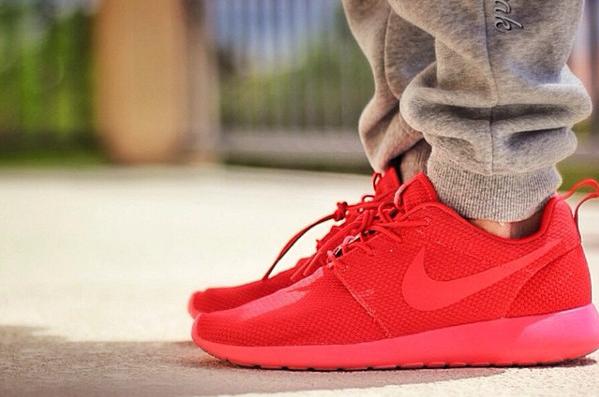 NIKE ROSHE ONE Nike Ros VARSITY REDVARSITY RED VARSITY RED 17SP I