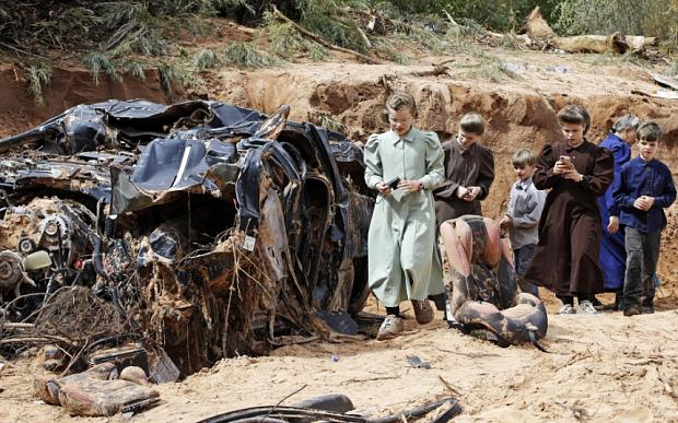 10-year-old boy among 15 dead in Utah flash floods…