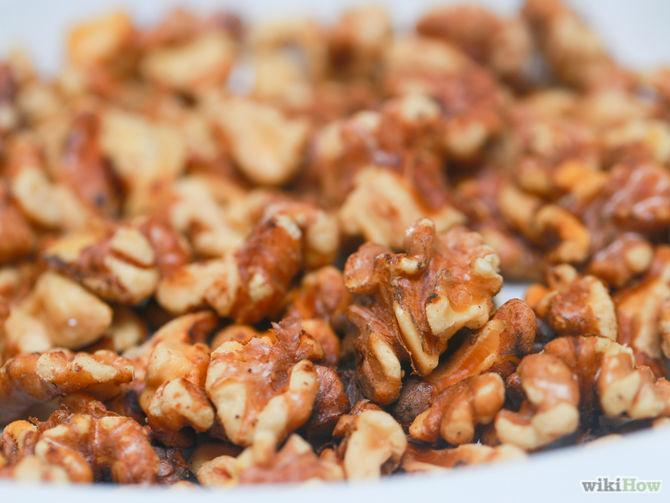 how to toast walnuts