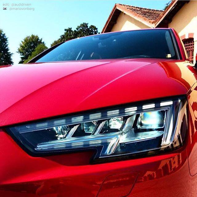 How do you like the #newA4 #AudiLED lights? #Audi #A4 #AudiIAA15 #IAA2015 #IAA |  edit: @a… http://t.co/KpvfdCOP5U http://t.co/ZxdlA2ZIUl