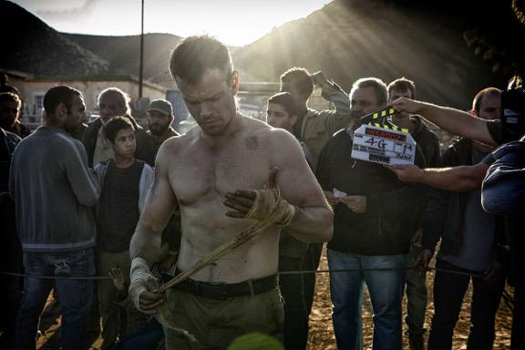 First day of principal photography complete and happy to report, BOURNE is back! #Bourne2016 http://t.co/ncIILnGKWr