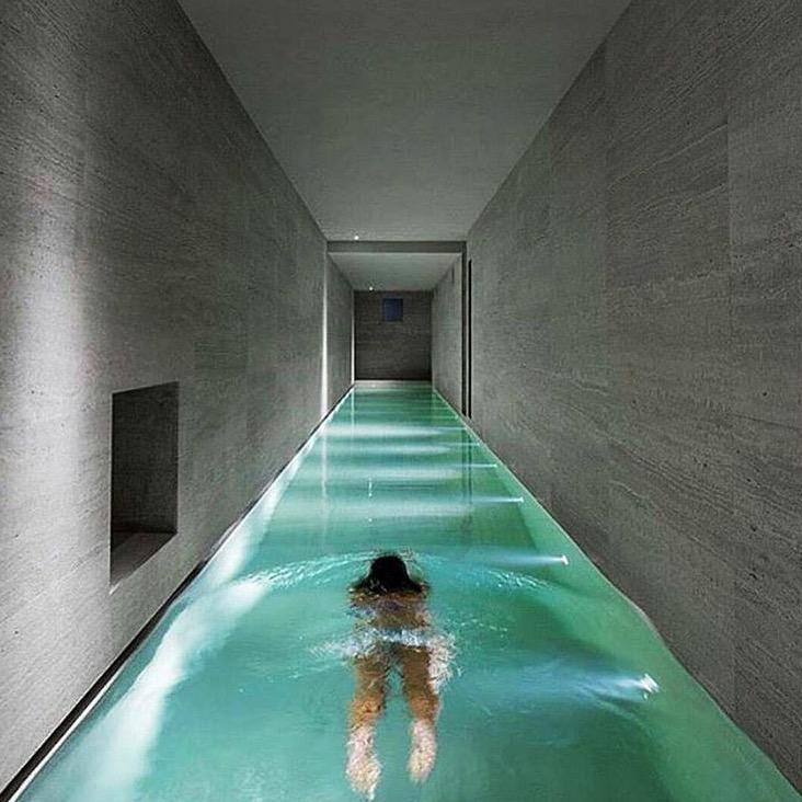 "Mansions With Indoor Pools billionaires on twitter: ""long and narrow indoor pool in this"
