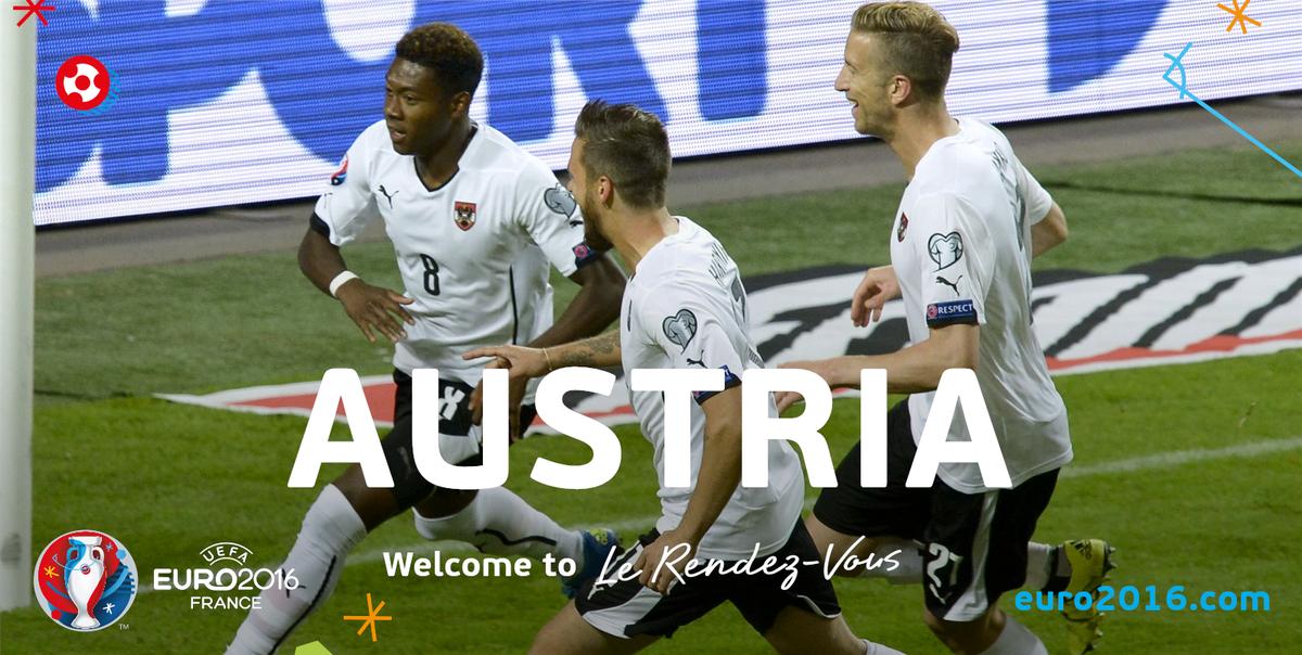 Thụy Điển 1 – 4 Áo(Vòng loại Euro 2016 - Bảng G)