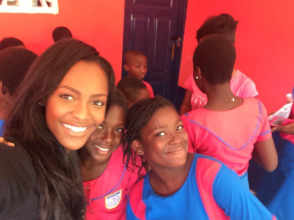 Mame Adjei  - 😊 they're s twitter @MameAdjei4 ghanaians,ghana,communityservice
