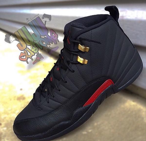 Air Jordan 12 Custom Merry