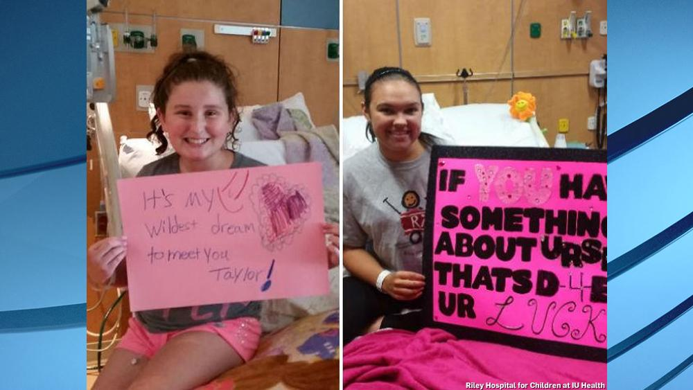 RT to help @RileyKids get a visit from @taylorswift13 next week! #Riley4Taylor http://t.co/9LpJzScoip