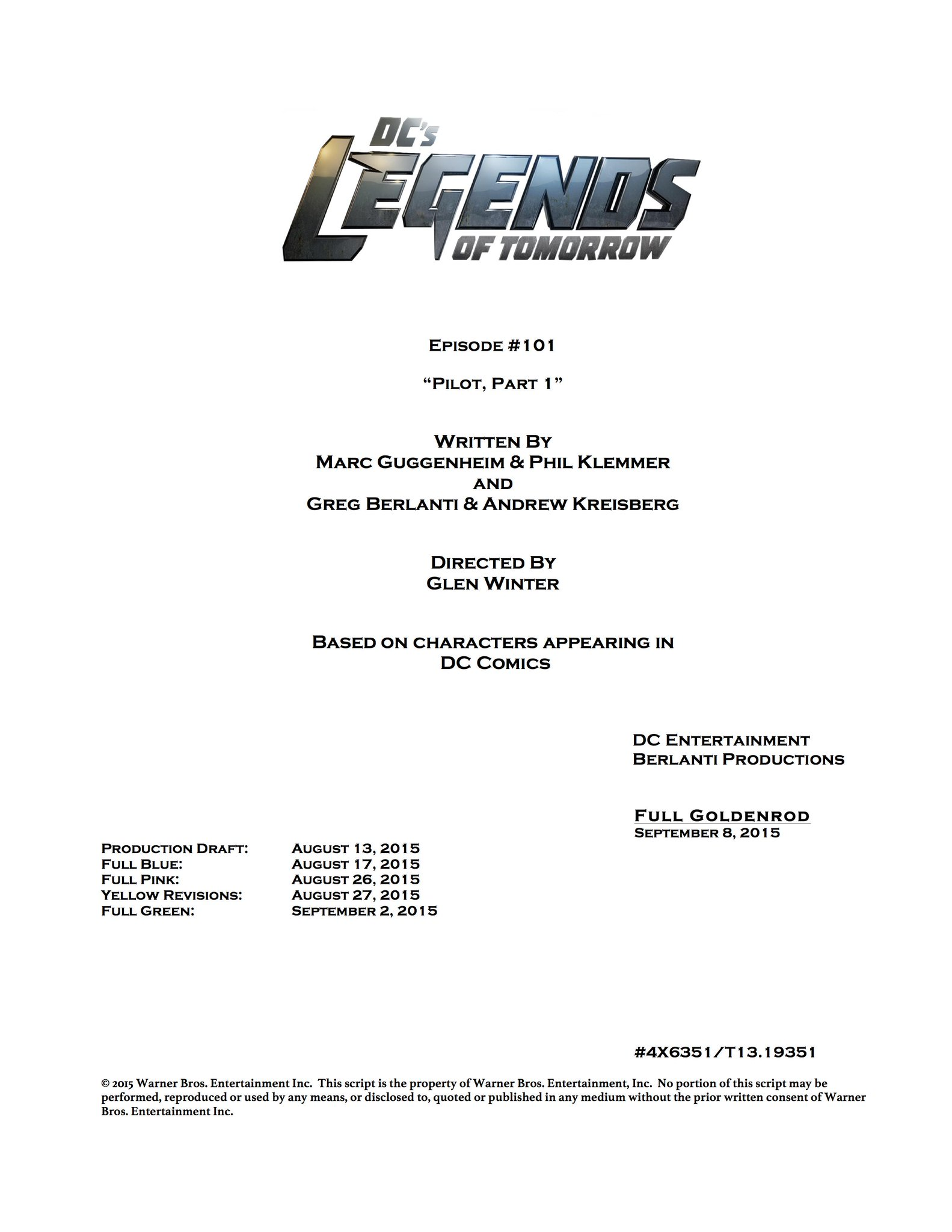 [Series] LEGENDS OF TOMORROW - Página 3 COb0hnUUYAAJ0oO