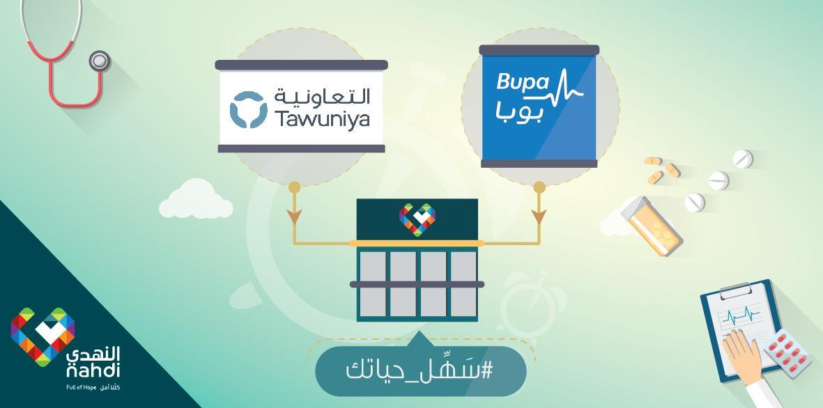 Nahdihope V Twitter لحاملي بطاقة التعاونية للتأمين أو بوبا العربية الآن يمكنكم صرف وصفتكم الطبية من صيدلية النهدي سهل حياتك Http T Co Gbljpcdwel