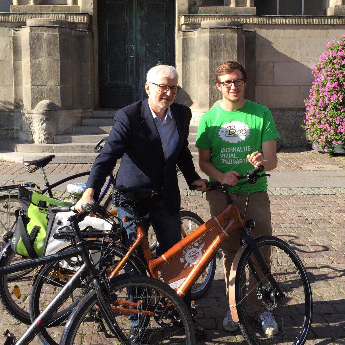 My Boo Bamboo Bikes On Twitter Gerade Den Kieler Burgermeister