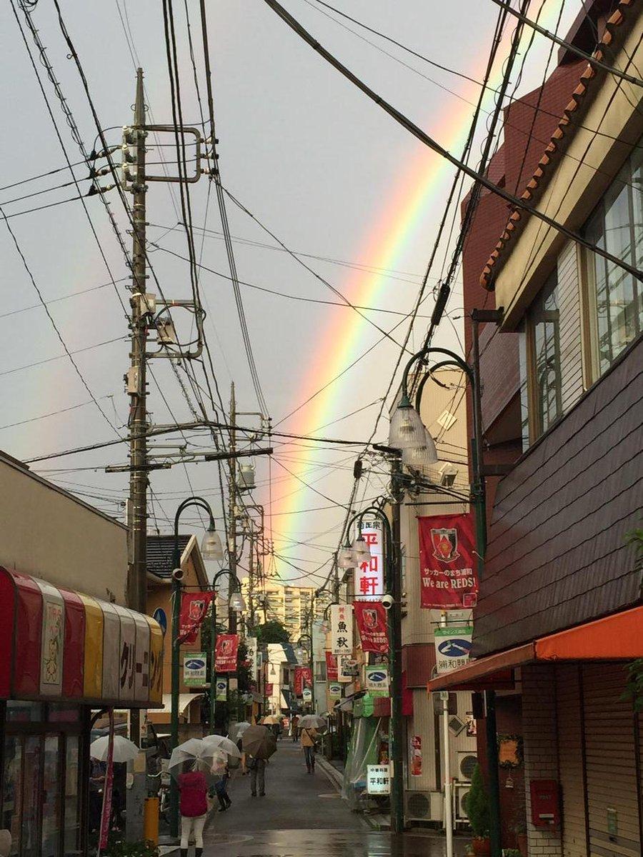 うちの商店街にもレインボー〜‼︎ http://t.co/vkOpZnEXfC