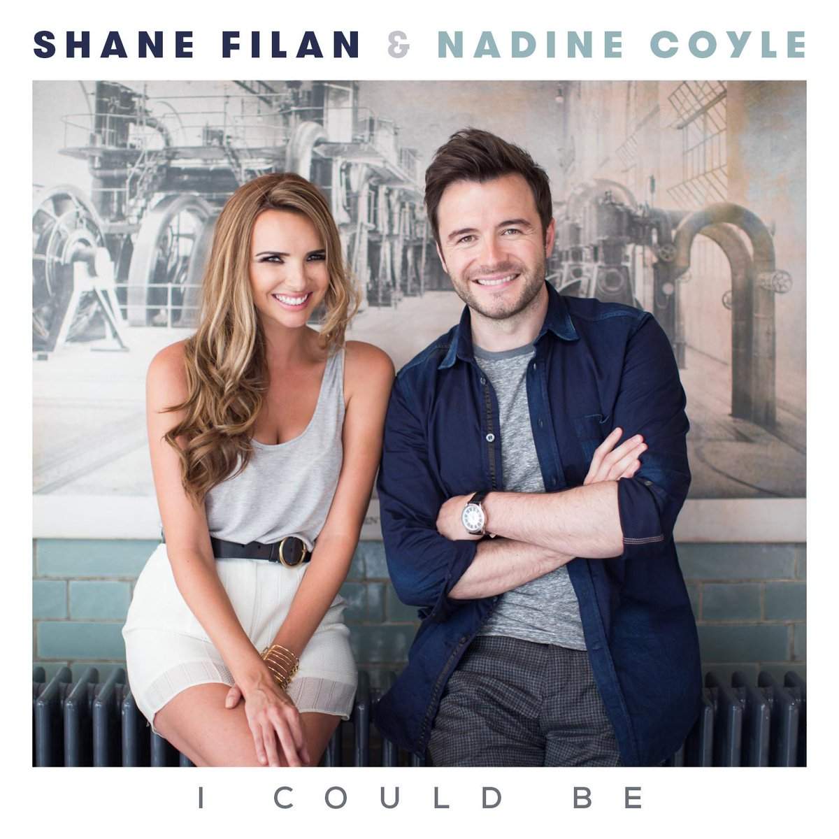 "Nadine Coyle > single ""I Could Be (ft. Shane Filan)"" COcyPOwWwAERaq7"