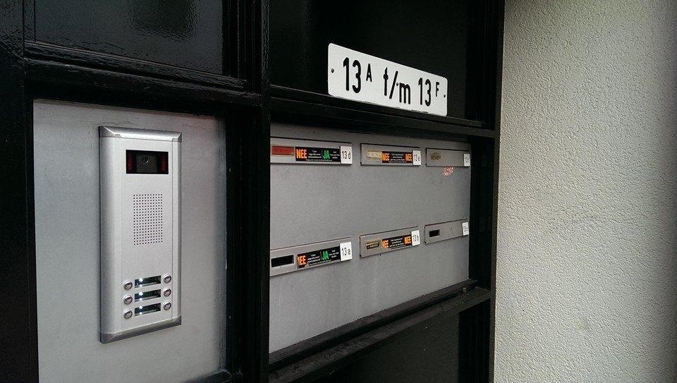 2-draads #intercom systemen in appartementen