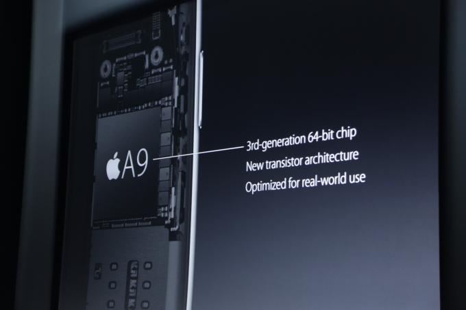 The new iPhones will get a new A9 chip (versus the A9x in the iPad Pro) #AppleEvent http://t.co/mAsDTXTq6C http://t.co/bNPoJVnOJl