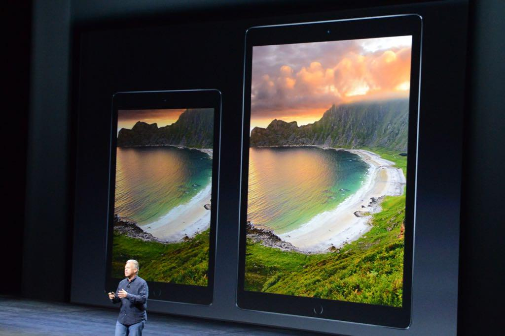 If you ask me, both these iPads look far too big. http://t.co/gNOi5yGW3D