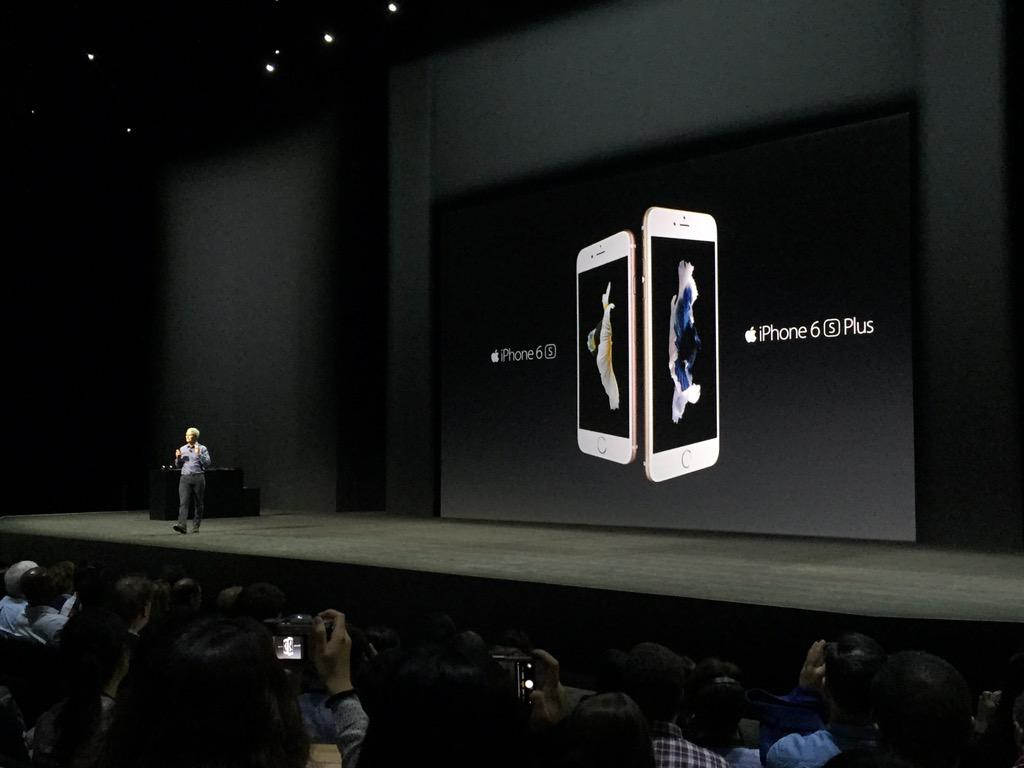 New iPhone pricing: 6s starts at $199.   6s Plus starts at $299. #AppleEvent http://t.co/foeXldaDSs