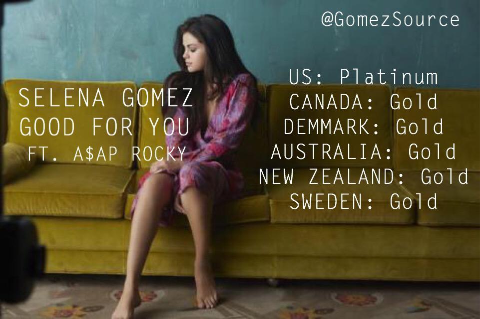 "Charts/Ventas » ""Good For You"" [#1GRE, #5USA, #7CR, #8SLO, #9CAN/ESP/NOR, #10AUS, #11FIN/DEN, #14FRA/NZ] - Página 7 COeAJfRUsAAMrhw"