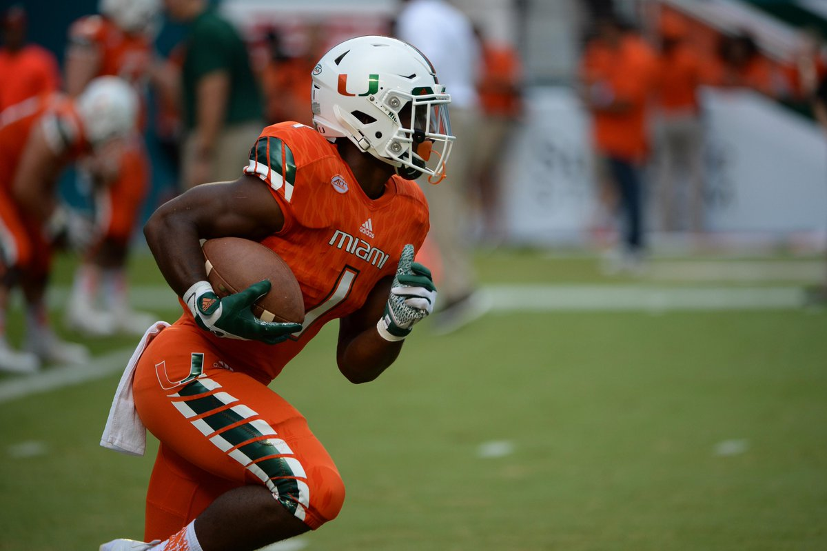 Canes Football On Twitter Mark Walton Was One Of 26