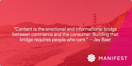 .@jaybaer asked, do you love content marketing enough? We do! #CMWorld http://t.co/I0q7ZN9KS2