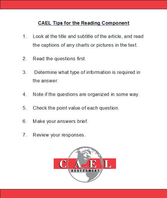 cael on twitter these tips and more can be found in the cael rh twitter com Matching Test Questions Test-Taker Cartoon