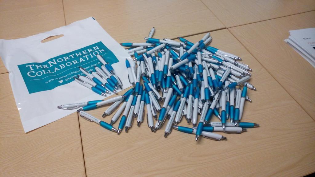 Pens galore #ncollab15 http://t.co/TktsFzY2Yk