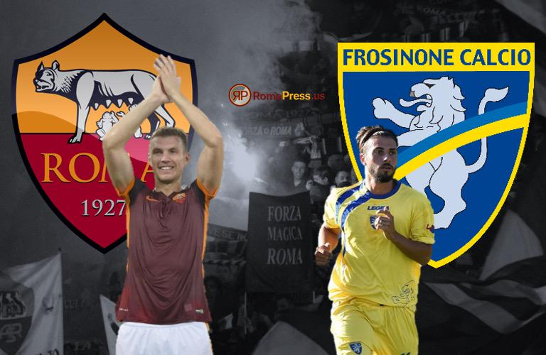Dove vedere FROSINONE-ROMA Streaming
