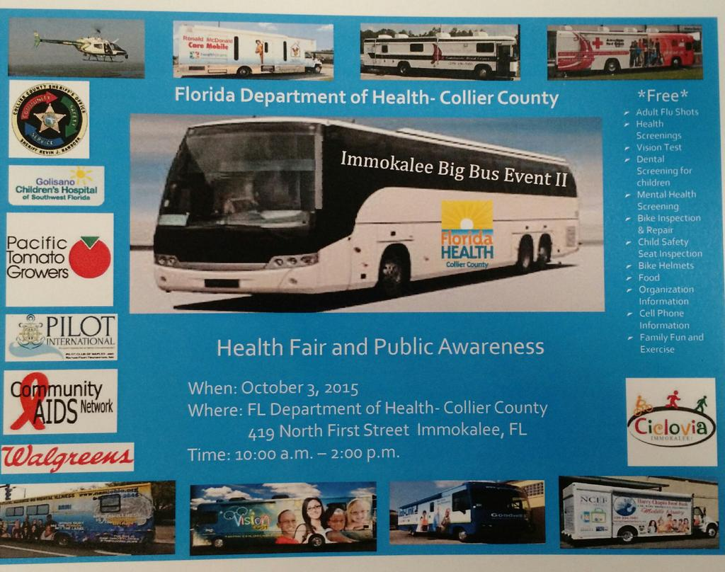 Save the date: Oct. 3th 10am to 2pm Health Fair & Public Awareness @HealthyFla #immokalee #inthe239 http://t.co/xrBxIc5Xw1