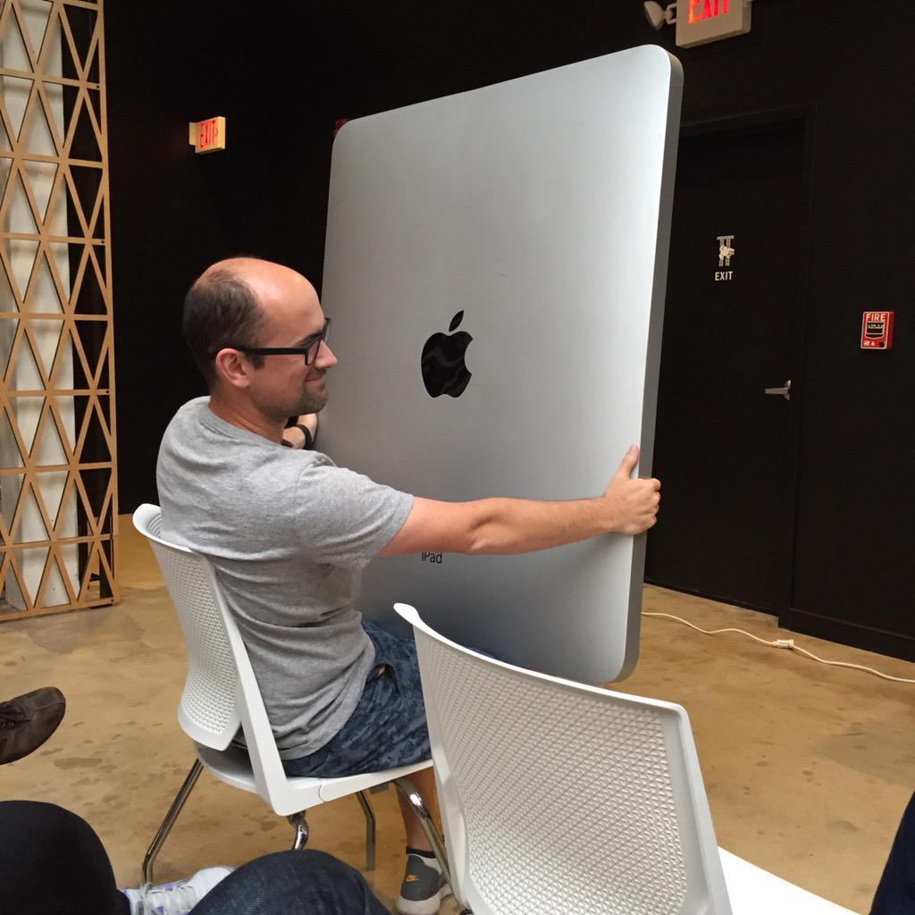 Whoa. It's huge. http://t.co/LoehWE4oDk