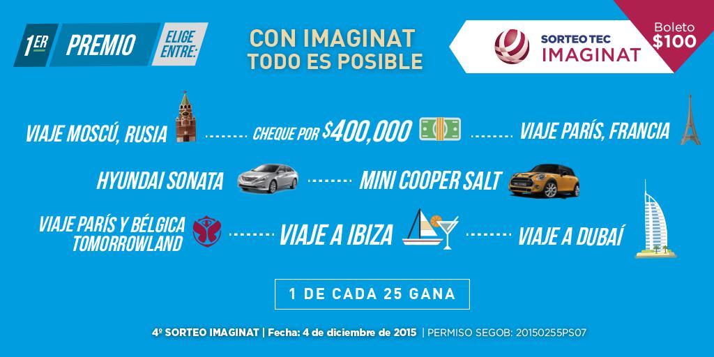 ¡Wow! Ya viste todas las opciones que tienes por elegir. Se nuestro próximo ganador este 4 de Diciembre.🎉🎊 #yamevi http://t.co/0K3qjbGFur